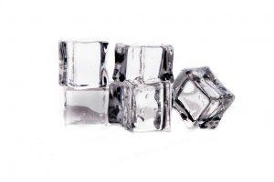 Cubes de glace - tendinites