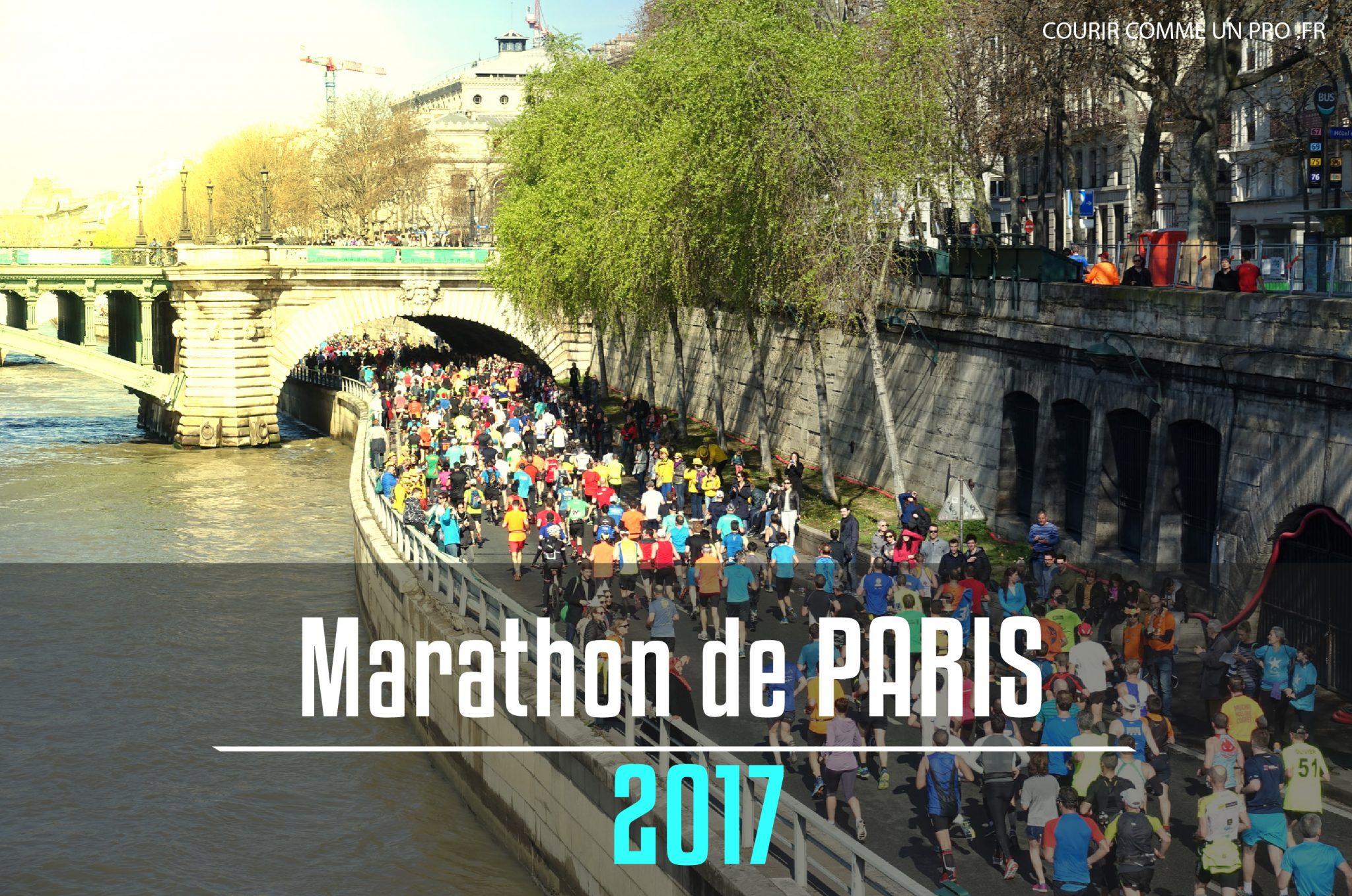 plan marathon Paris 2017