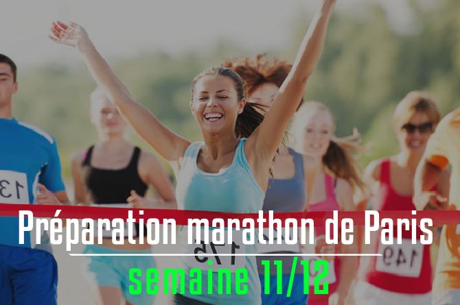 Le marathon de Paris, c'est dans 2 semaines