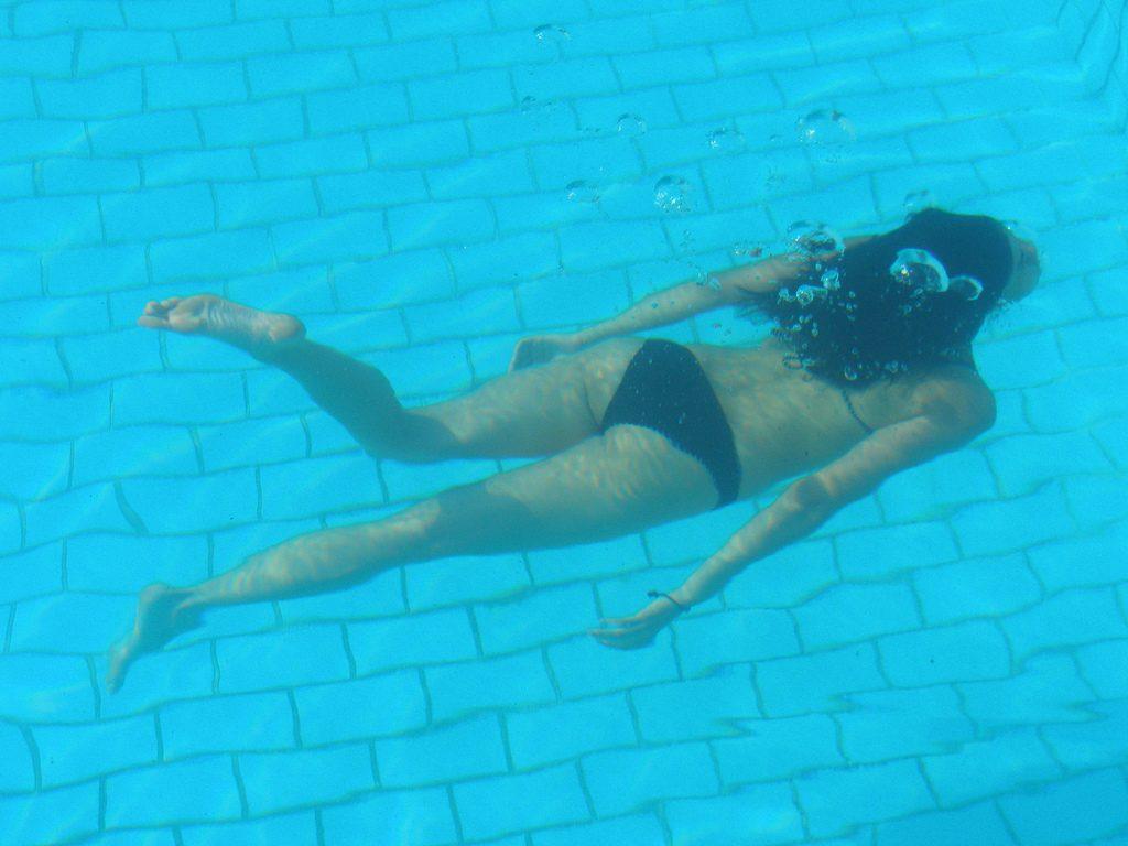 La récupération en nageant