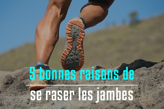 Running : pourquoi se raser les jambes