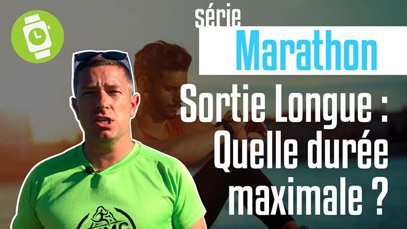 Durée de la sortie longue sur le marathon