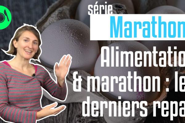 l'alimentation avant un marathon